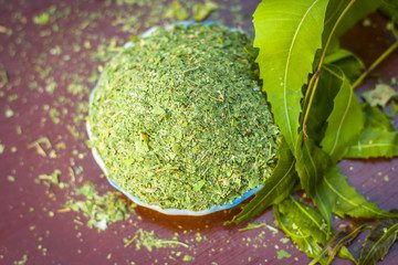 Health Benefits of Neem Powder (Antelaea Azadirachta)